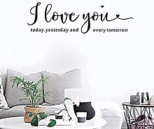 Wallpaper I Love You Wall Decals Home Decors