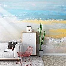 Wallpaper Mural Abstract Art Living Room tv