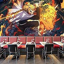 Wallpaper Mural Anime 3D Naruto Color Bedroom
