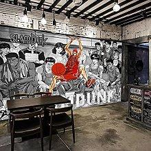 Wallpaper Mural Anime Naruto Black White Bedroom