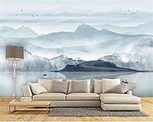 Wallpaper Mural Ink Landscape Painting Landscape