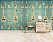 Wallpaper Mural Nordic Modern Creative Guitar