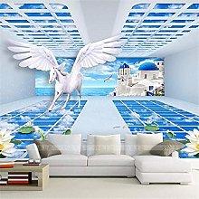 Wallpaper Mural Papel de Parede 3D Large-Scale