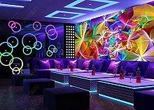 Wallpaper murals Cool Nightclub Flower bar KTV