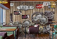 Wallpaper murals Gear Machinery Bar Wallpaper