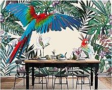 Wallpaper Nature Art Rainforest Plants Parrot