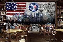 Wallpaper New York City Mural for Living Room bar