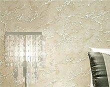 Wallpaper Non-Woven Fabric Idyllic Vine Flowers