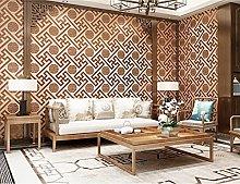 Wallpaper,Non-Woven Wallpaper,Flocking New Chinese
