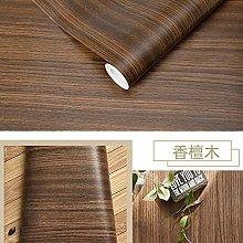 Wallpaper Paste Waterproof Wood Vinyl Wallpaper