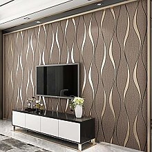 Wallpaper Photoposter Decor 3D Striped Wallpaper
