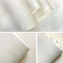 Wallpaper Retro Plain Grey Cement PVC Wallpaper