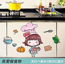 Wallpaper self-Adhesive Background Kitchen Cabinet