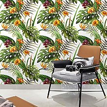 Wallpaper Self-adhesive Wallpaper Tropical Plants