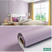 Wallpaper self-Adhesive Waterproof PVC White Solid