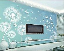 Wallpaper Simple Dandelion Butterfly TV Background