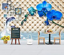 Wallpaper Wall Murals for Bedroom Living Room Blue