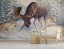 Wallpaper Wall Murals for Bedroom Living Room Elk