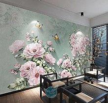 Wallpaper Wall Murals for Bedroom Living Room Pink