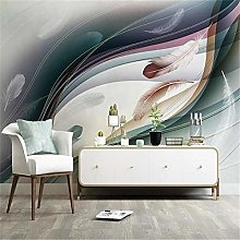Wallpaper Wall Muralscustom 3D Hand-Painted Nordic