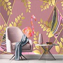 Wallpaper Wall MuralsYellow Jade Leaf Modern
