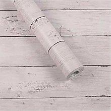 Wallpaper Wood Stripe Thicken PVC Wallpaper