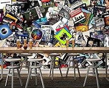 Wallpapers Cool Nightclub Bar KTV Mural 3D
