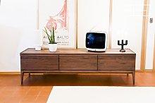 Walnut TV cabinet Hemët