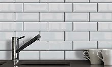 Walplus 3D Gel Tile Stickers: Classic Brick