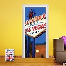 WALPLUS 90x200cm Las Vegas Door Mural