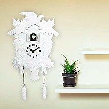 Walplus Elegant White Cuckoo Clock Wall Art Home