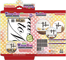 Walplus Wall Decals Word Puzzles - Welcome Home &