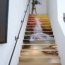 WALPLUS WFS046 - Rainforest Waterfall Stairs