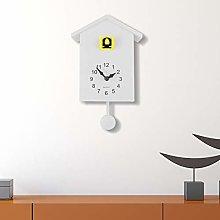 WALPLUS White Cuckoo Clock Yellow Window Wall