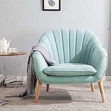Wamiehomy Modern Suede Fabric Armchair Tub