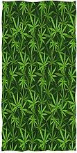 Wamika Marihuana Hemp Leaves Bath Towels, Pot