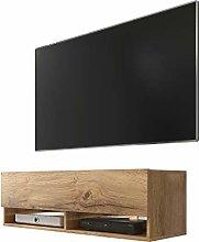 Wander - TV Cabinet / TV Lowboard in Wotan Oak