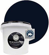 Wanders24 Blackboard Paint matt (3 liters, Black)