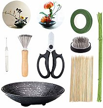 WANDIC Flower Arrangement Kit, Set of 51, Round