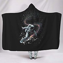Wandlovers Cuddly Hooded Blankets Cooler Astronaut