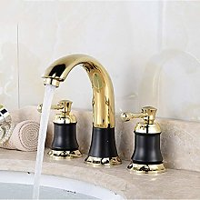 WANDOM Two-Way hot and Cold Water Faucet Black