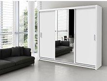Wangaratta 3 Door Sliding Wardrobe Brayden Studio