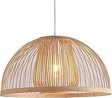wangch New Chinese Style Bamboo Chandelier,