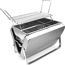 WANGF Portable Folding Grill Stainless Steel
