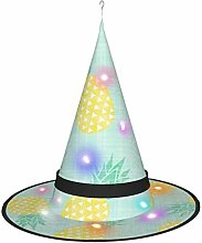 Wangqiuying19 Witch Hat Lamp,Cartoon Pineapple