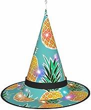 Wangqiuying19 Witch Hat Lamp,Pineapple Art