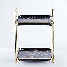 WangQM Gold Plated Cake Stand Wedding Party