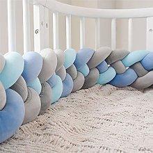 Wanguo Baby Cot Bumper Braid Pillow Nursery