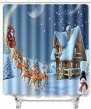 WANGXIAO Weihnachten Weihnachtsmann Elch
