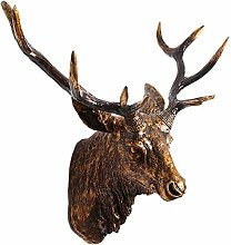 WANGXIAOYUE Animal head wall hanging Lip Deer